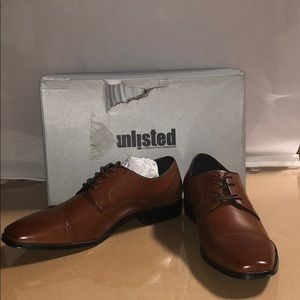 Unlisted by Kenneth Cole 8.5 M Men's Lesson